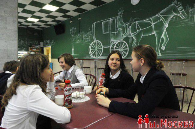 В Москве ко Дню знаний откроется 40 новых школьных ресторанов